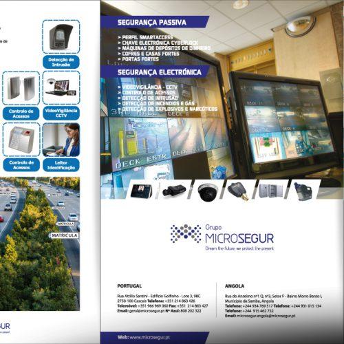 Design brochura para evento