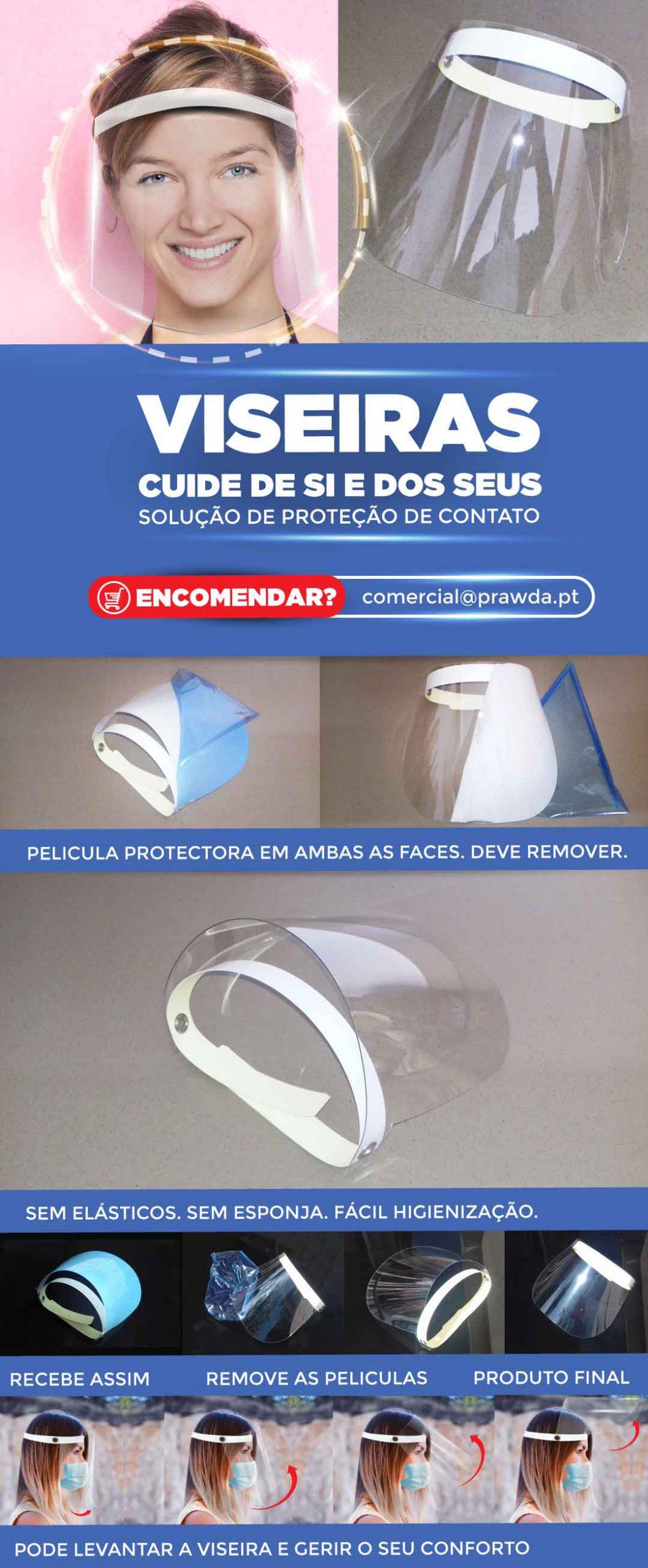 viseiras de proteção